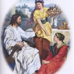 Mary at Jesus' Feet